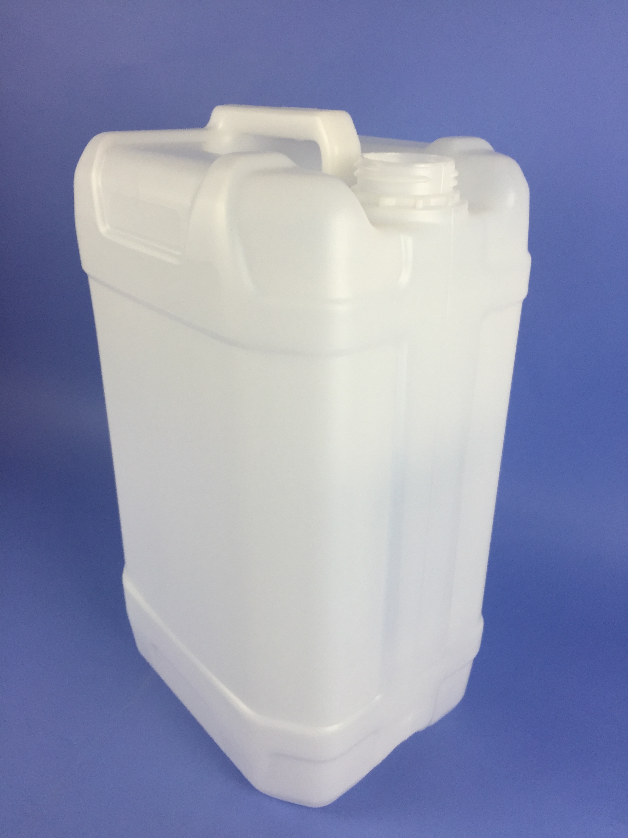 S25000r Natural Hdpe 25 Litre Jerrican Stackable