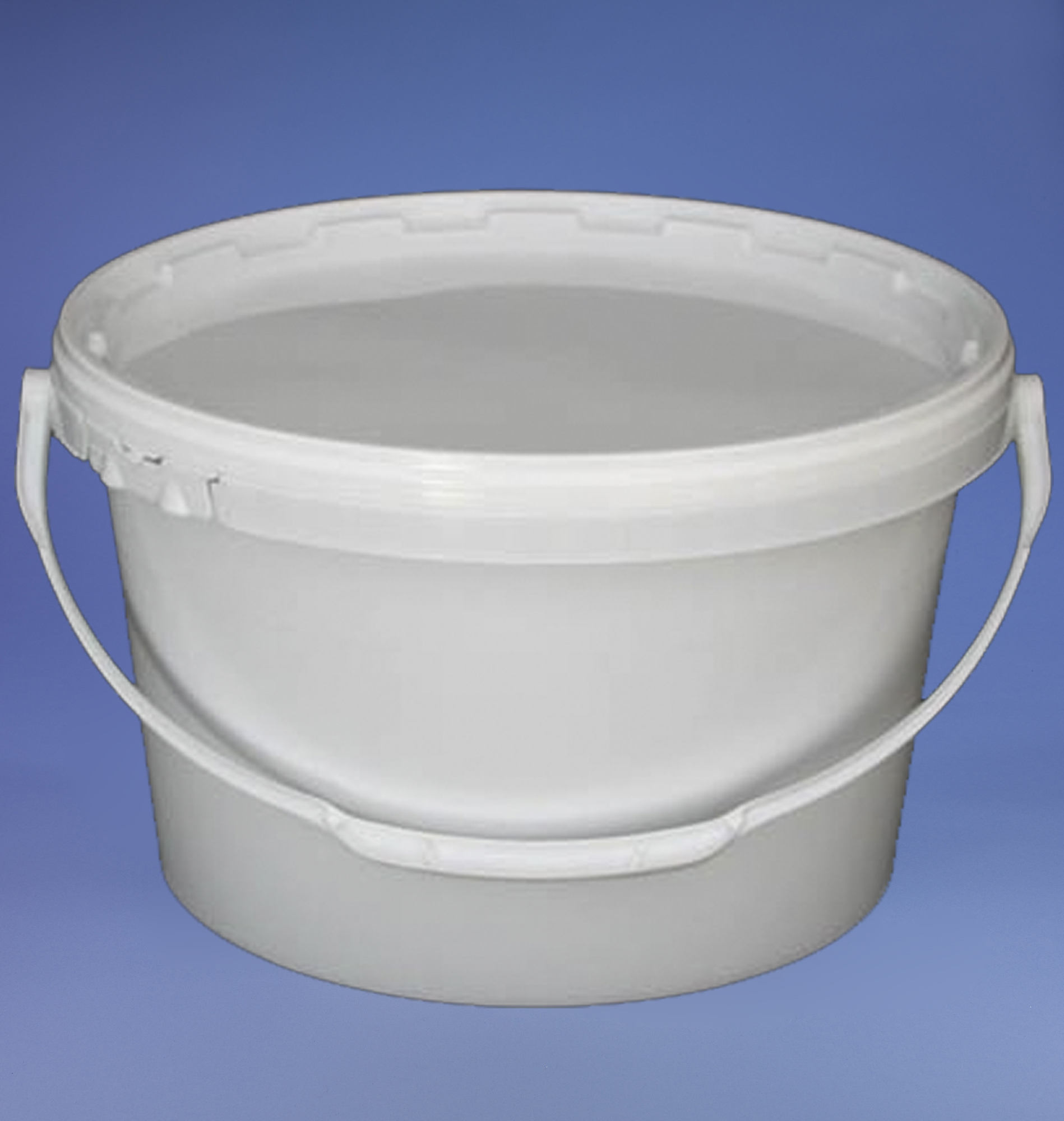 PB12OW Oval White Bucket 12.8L