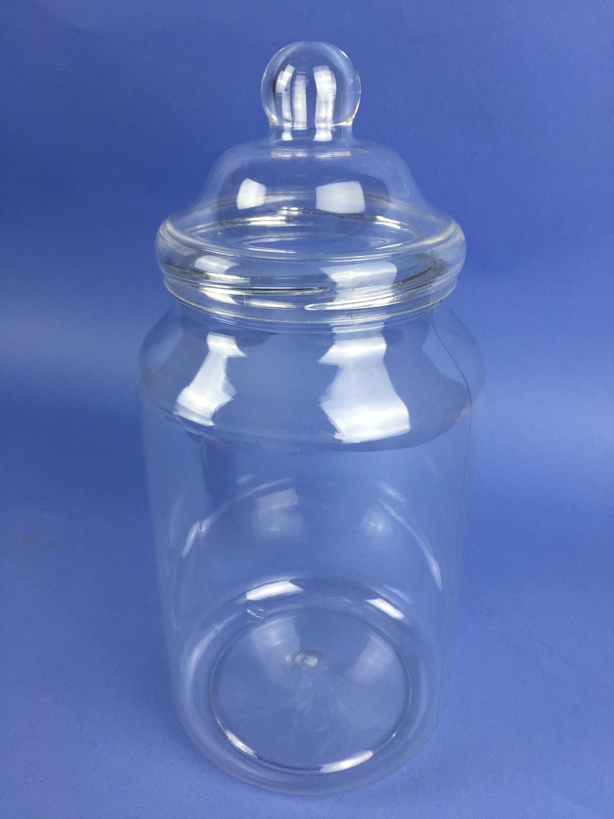 Pet Clear Round Jar 3250ml Petr3250c Bristol Plastics