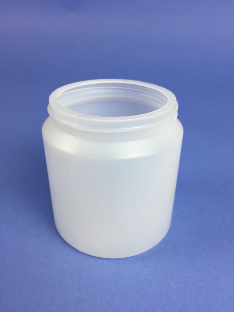 Plastic Jar 150ml Hdpe Clear Natural Sj5 Bristol