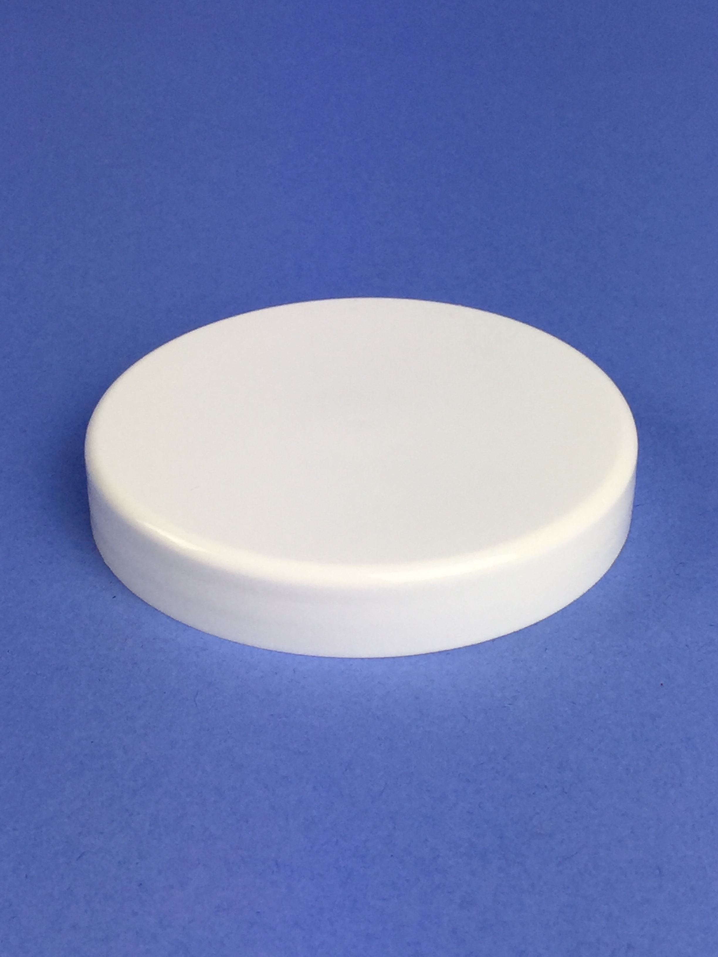 White Lid To Suit 100ml 200ml 250ml Clear Pet Jars