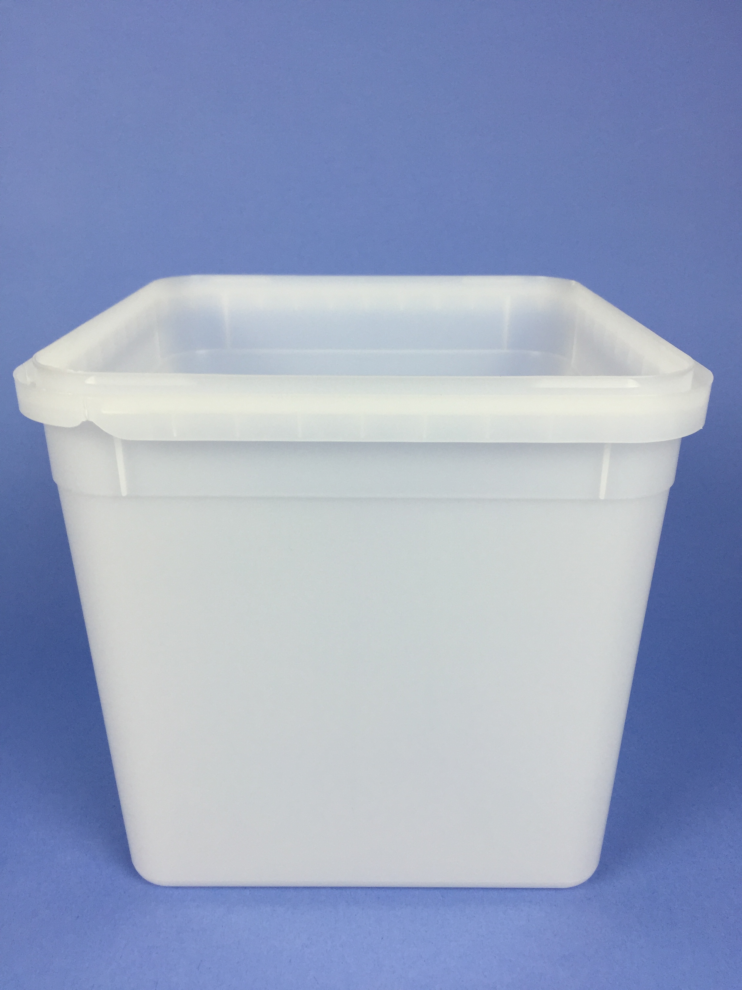 Pc4sqte 4 Litre Square Icecream Container Bristol