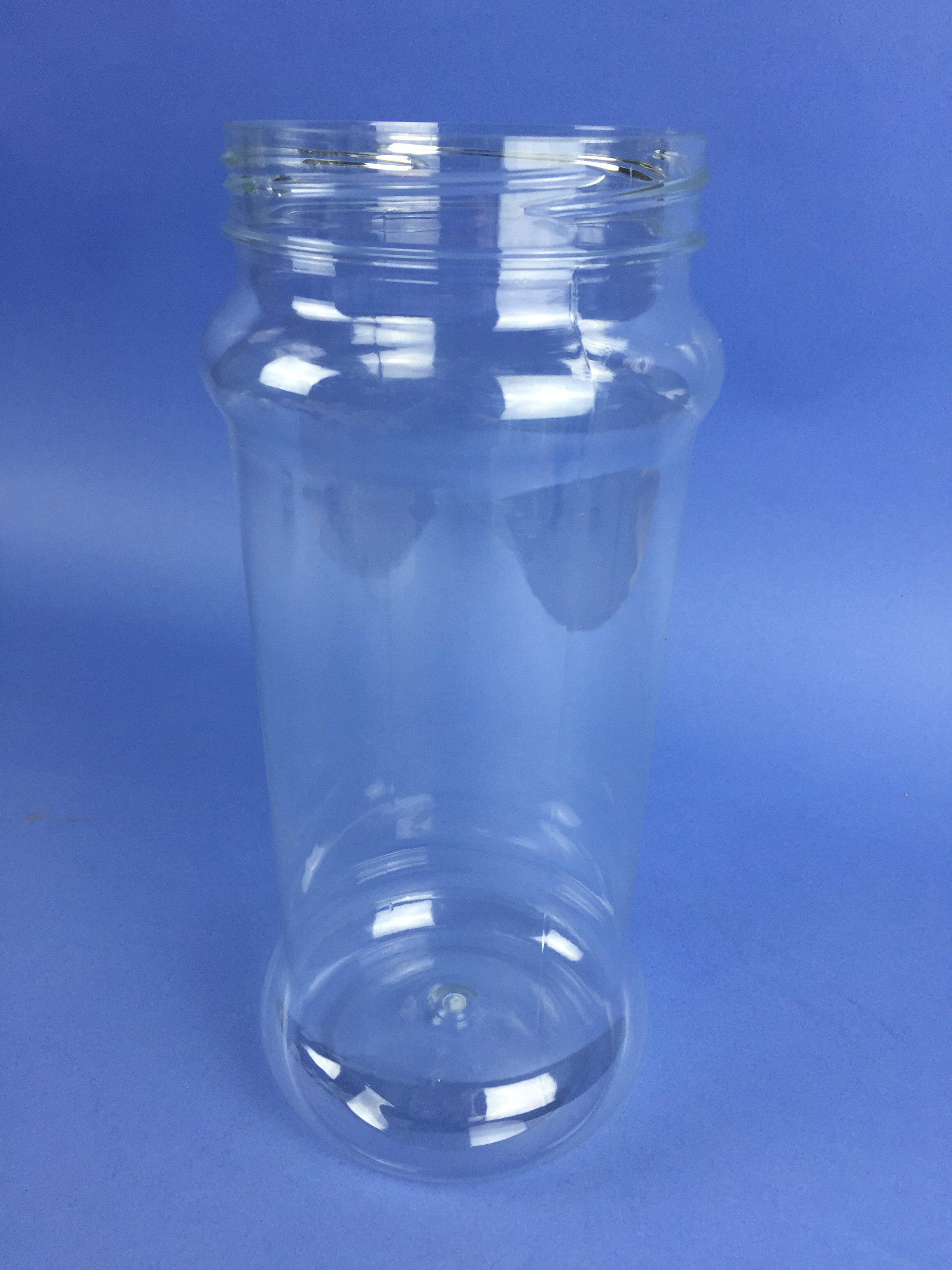 CLEAR PET ROUND JAR 2500ml - 110mm NECK PETR2500C