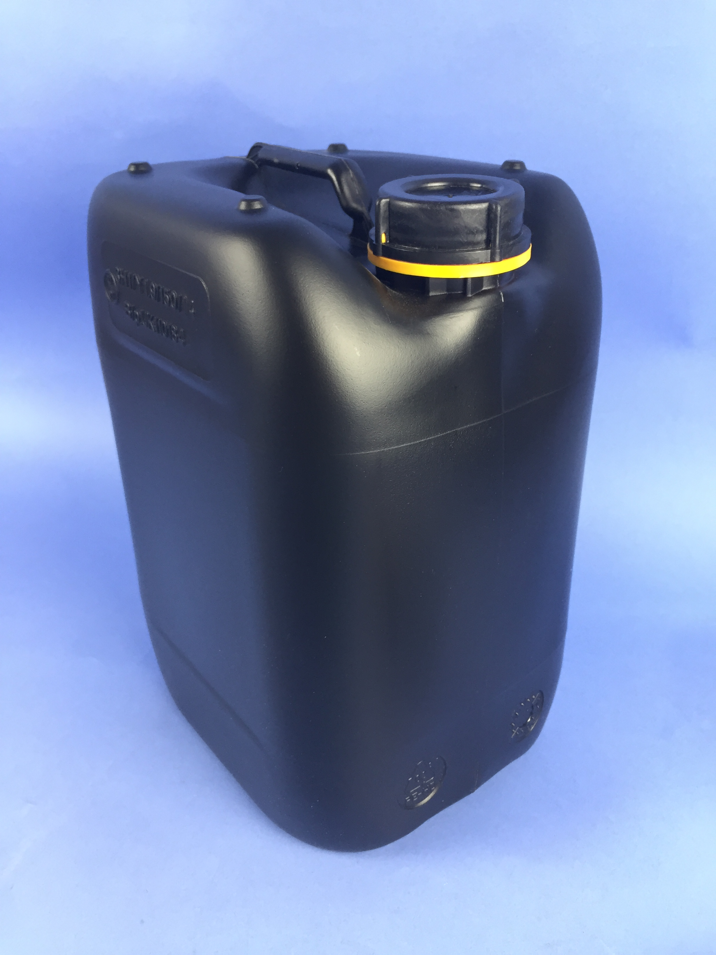Black Hdpe 10 Litre Jerrican Stackable S10000rb
